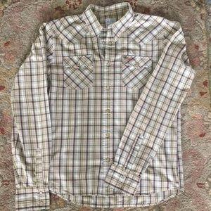 Holister Button Down Cotton Shirt. Size M
